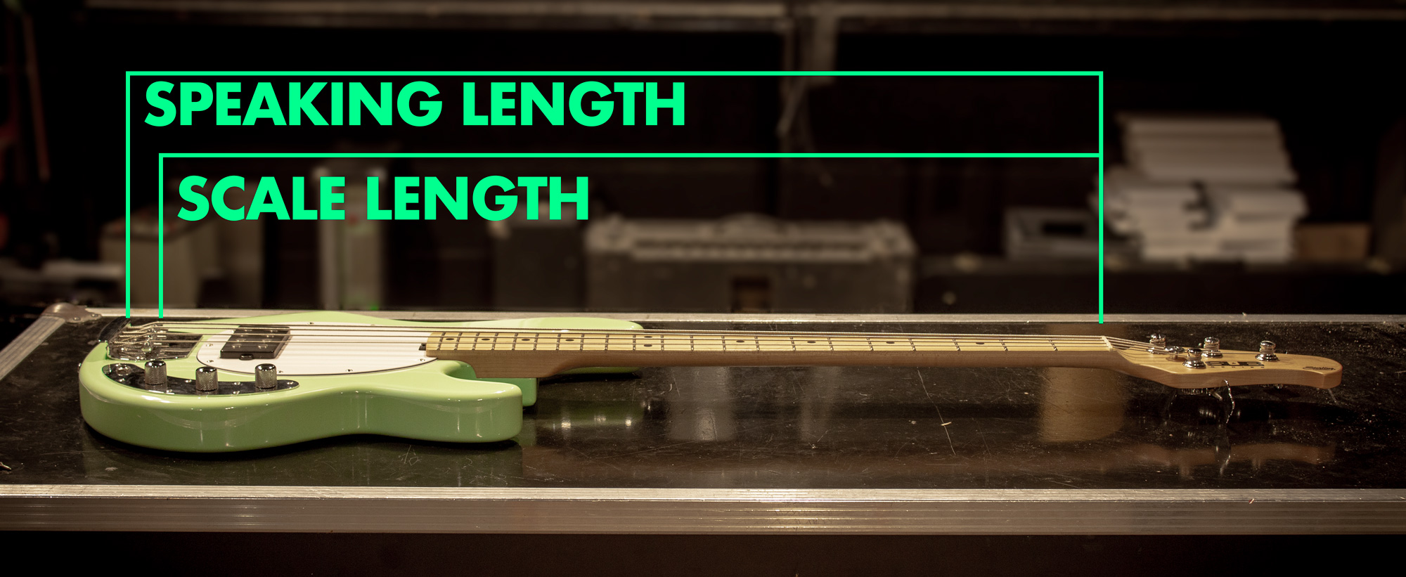 Scale length vs Speaking Length