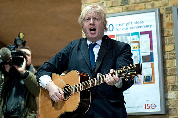 Boris Johnson Capo Fail