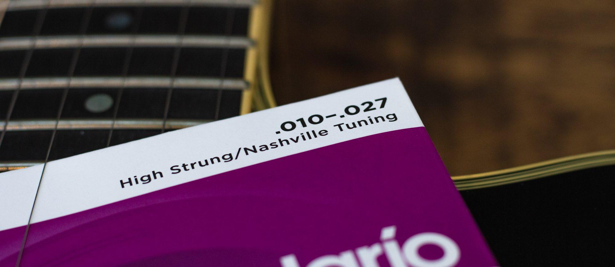 D'Addario EJ38H Nashville Tuning Set