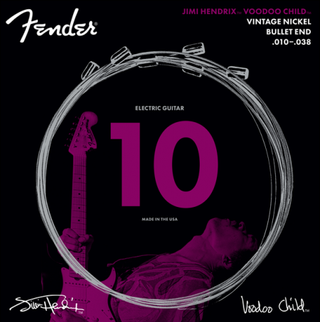 Fender Jimi Hendrix Signature Bullet Set