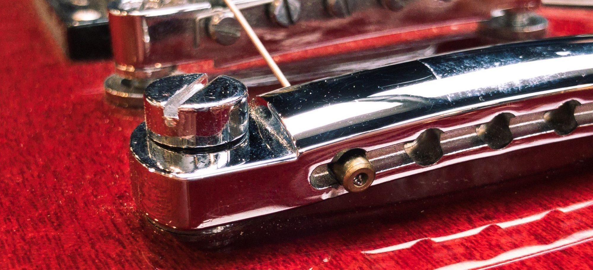 Fender Bullet through a Tailpiece