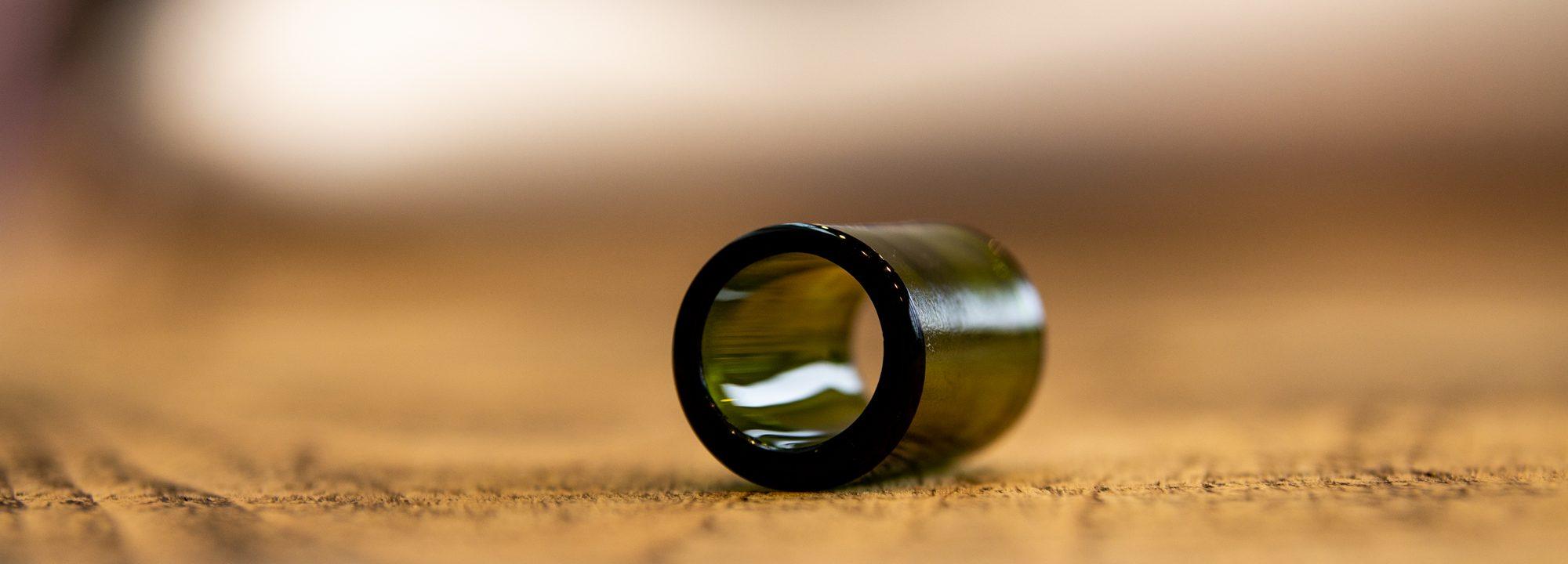 Green Glass Slide