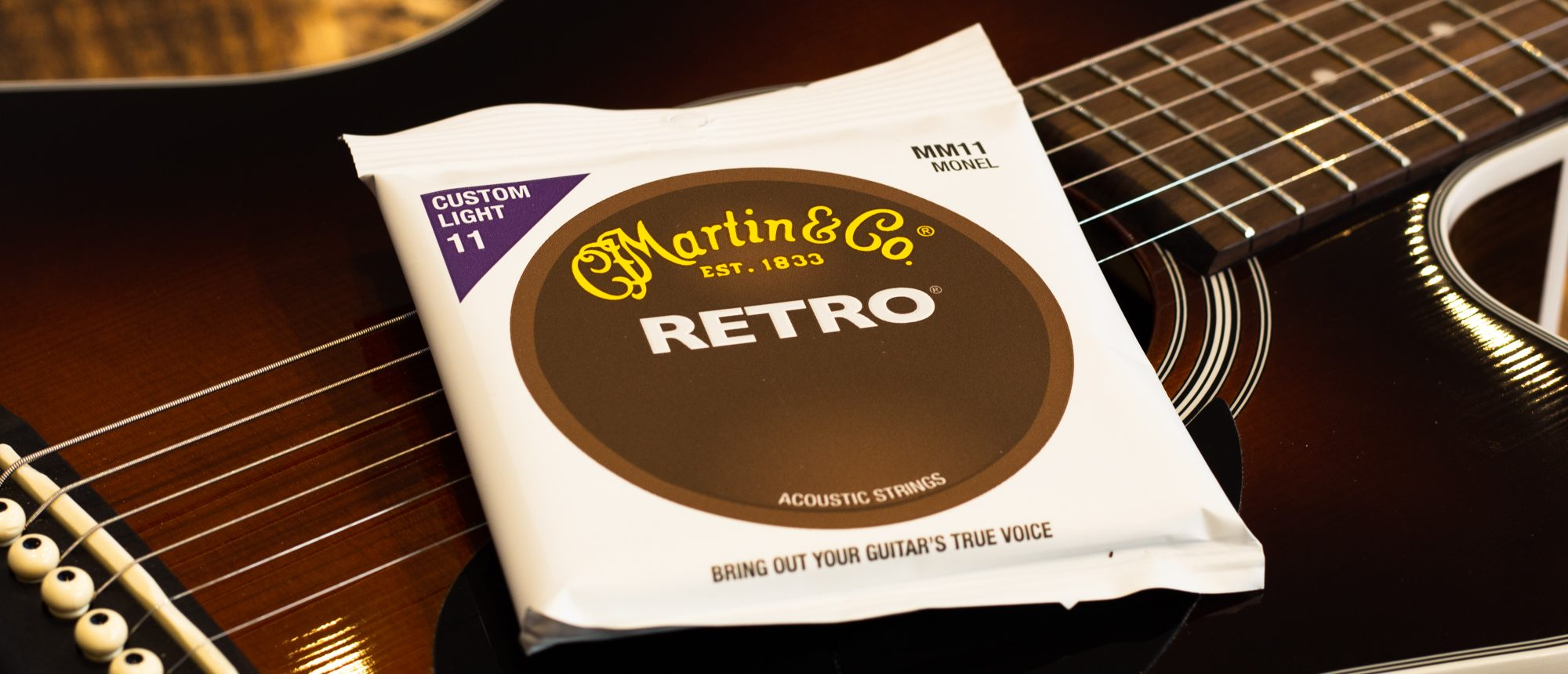 Martin Monel Wound Acoustic Guitar Strings