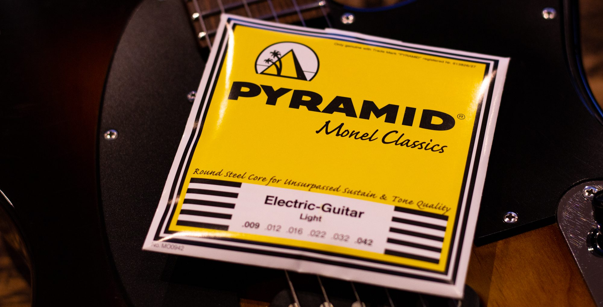 Pyramid Monel Classics 09-42 Electric Guitar Strings