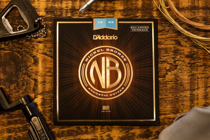 DAddario Nickel Bronze Acoustic Guitar Strings