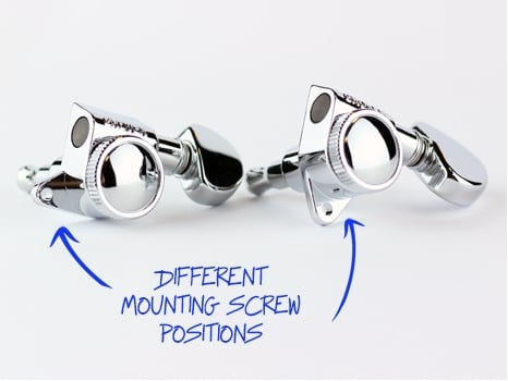 Different Mounting Screw Positions