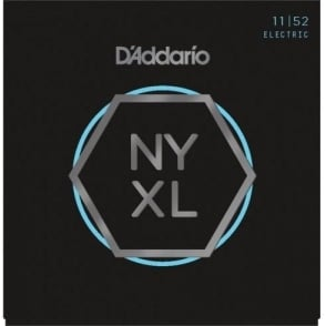 D'Addario  NYXL1152 Nickel Wound Electric Guitar Strings 11-52 Medium Top / Heavy Bottom
