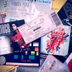 Assorted Gig Tickets