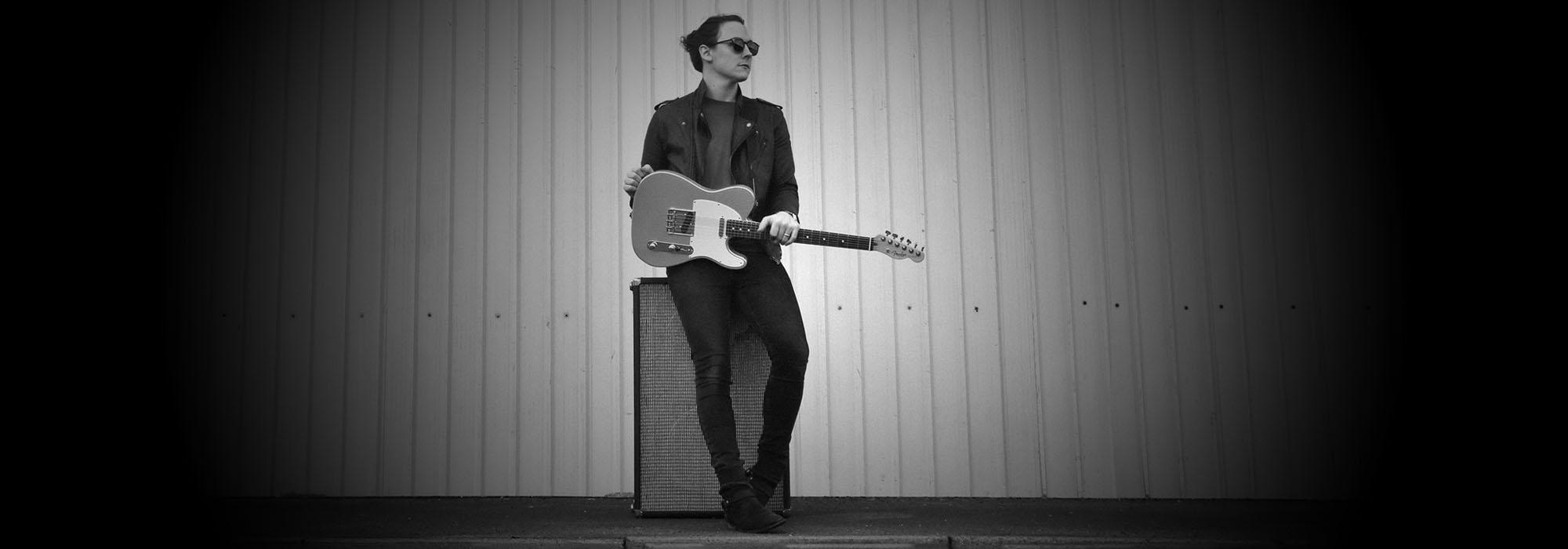 Chris Buck with Fender Vintera Telecaster