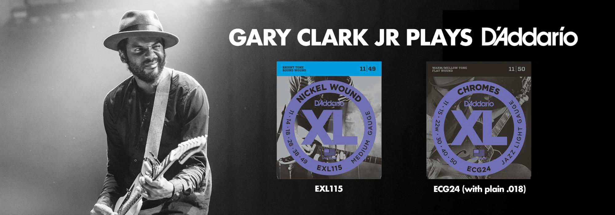 Gary Clark Jr Plays D'Addario