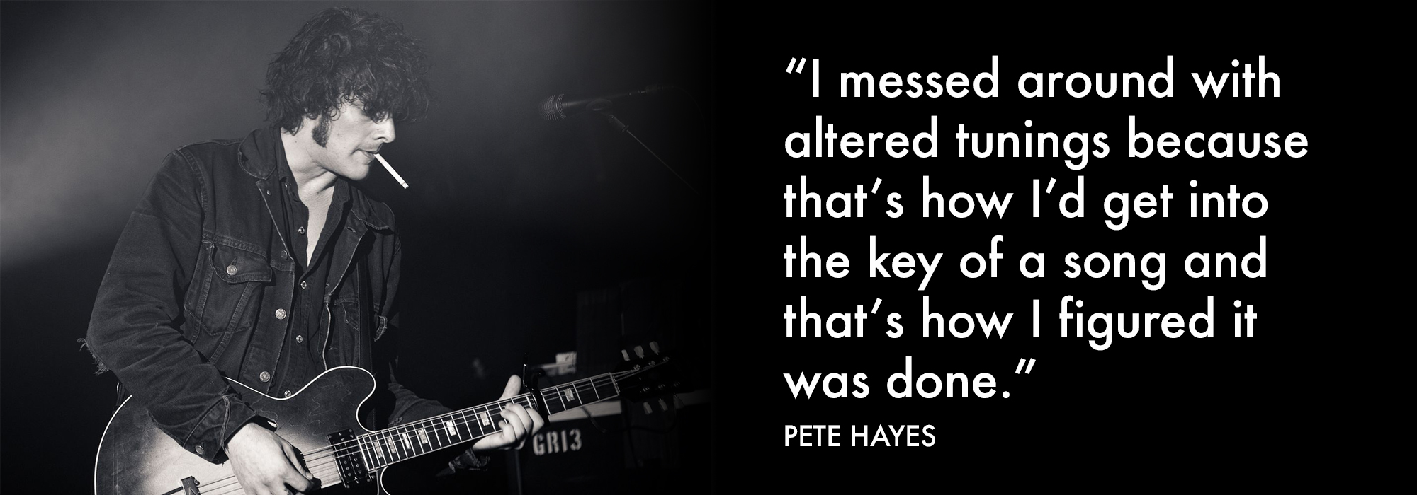 Pete Hayes quote on working out songs