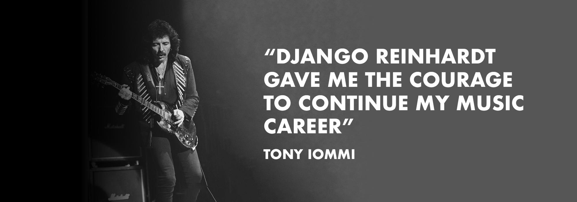 Tony Iommi on playing guitar after his accident