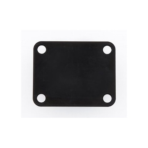 Allparts AP-0600-003 Neck Plate, 4 Hole, Black