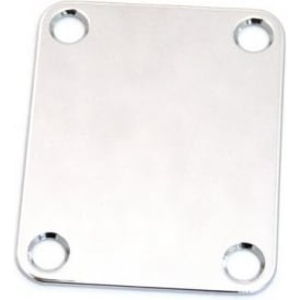 AllParts AP-0600-010 Neck Plate, 4 Hole, Chrome
