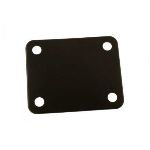 Allparts AP-0604-023 Neck Plate Cushion 4 Hole, Plastic, Black