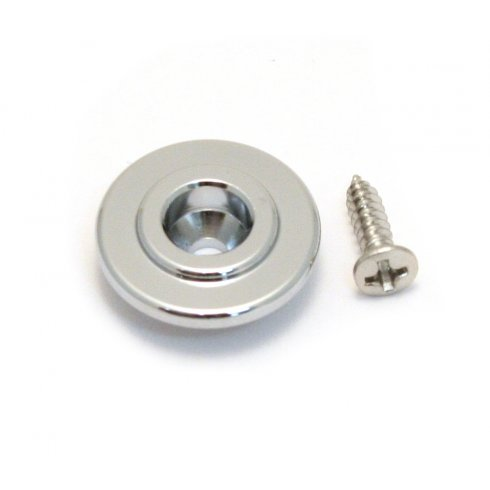 AllParts AP-6710-010 String Guide, Bass, Round, Chrome