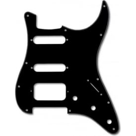 Allparts Black 3-Ply 11-Hole HSS Pickguard for Stratocaster