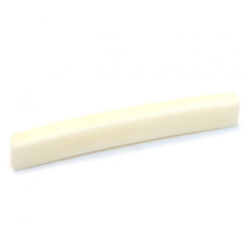 Allparts BN-0205-000 Bone Nut with Curved Bottom for Fender Guitars