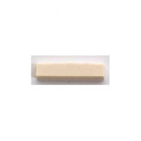AllParts BN-2223-025 Plastic Nut, Slotted, 1-1/4 Inch Wide for Mandolin