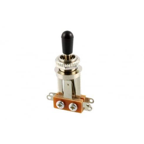 Allparts EP-0067-000 Toggle Switch, 3-Way, Long Straight, Nickel