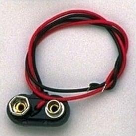 AllParts EP-0249-000 9-Volt Battery Terminals Rigid Plastic Pack of 5