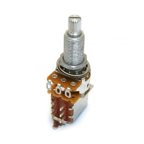 AllParts EP-4286-000 Potentiometer, 500K Push/Pull, Split Shaft, Audio, 19mm Long, DPDT