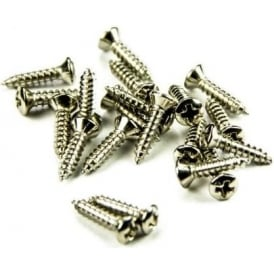 AllParts GS-0001-001 Pickguard Screw, Fender, Phillips Head, Nickel, 20-Pack