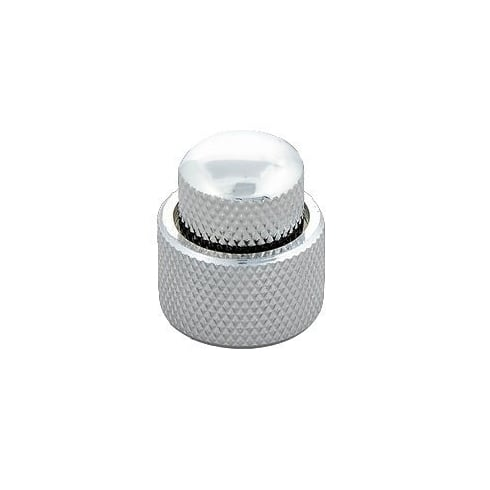 Allparts MK-0138-010 Mini Concentric Stacked Knobs, Chrome w/ Screws