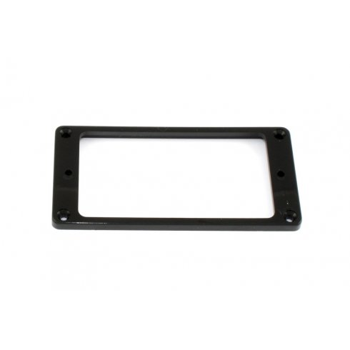AllParts PC-0743-023 Humbucking Pickup Rings Set, Flat, Slanted, Black