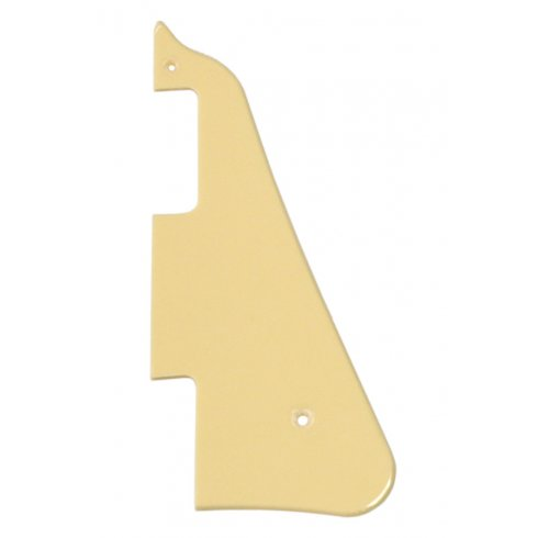 Allparts PG-0800-028 Pickguard for Les Paul, 1-Ply Cream