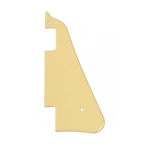 Allparts PG-0802-028 Pickguard for Les Paul Deluxe, 1-Ply Cream