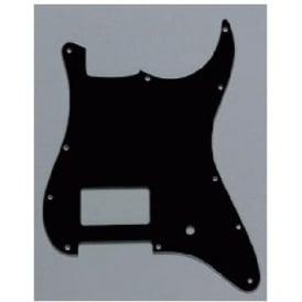 AllParts PG-0993-033 1 Humbucker Black Pickguard for Stratocaster Electric Guitar