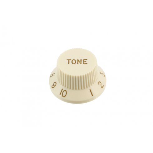 Allparts PK-0153-050 Tone Knobs, Stratocaster, Parchment, 2-Pack
