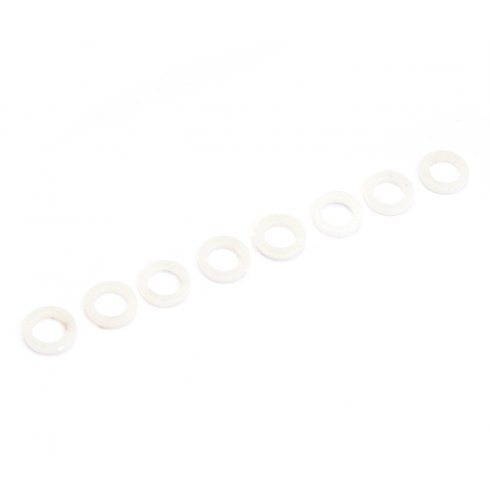 Allparts Plastic Washers for Bass Tuning Keys between Button & Housing Pack of 8