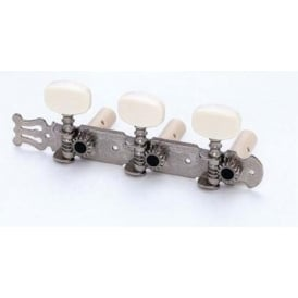 AllParts TK-0125-001 Machine Head Set, Classical Tuners, Nickel