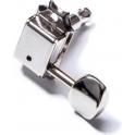 Allparts TK-0880-L01 Gotoh Tuning Keys, Vintage Style, 6-in-line, Nickel, Lefthanded