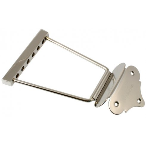 Allparts TP-0429-001 ABM 1111 Short Trapeze Tailpiece Nickel