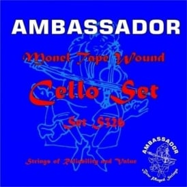 Ambassador S326 Monel Cello Set