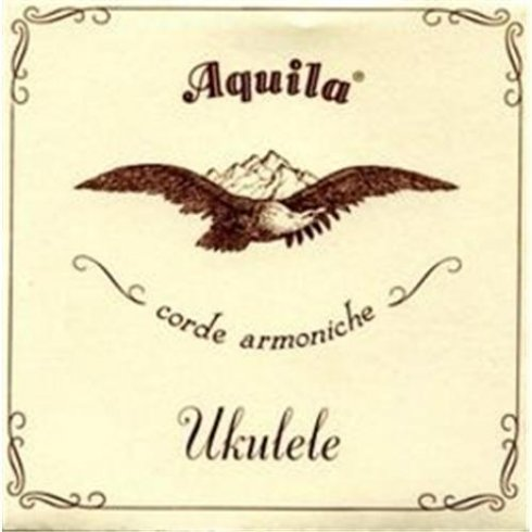 Aquila Corde Aquila 13U Tenor GCEA Nylgut Ukulele Strings Key of C Regular Tuning with Wound C