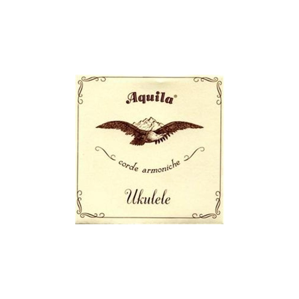 Set of 4 Aquila New Nylgut AQ-30 Soprano Ukulele Strings in Fifths GDAE