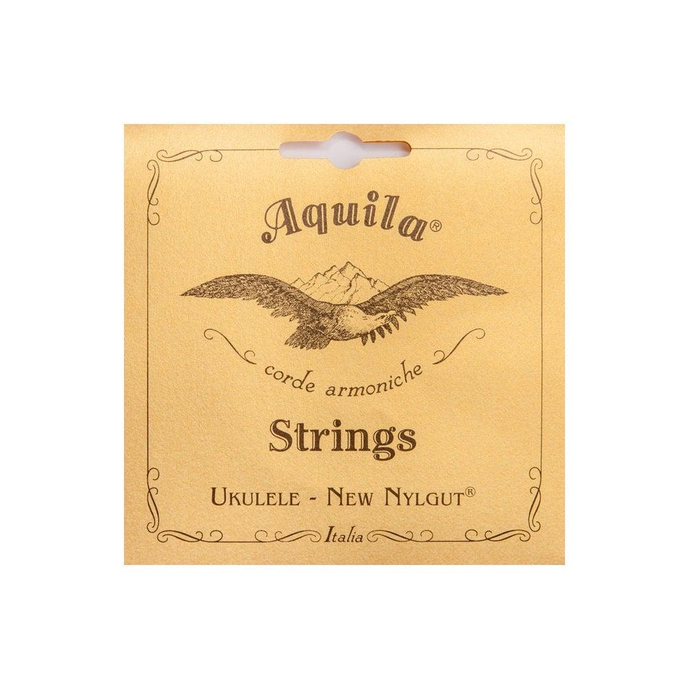 BASS Ukulele//Ashbory Set 4-string Aquila 91U THUNDER REDS/® GDAE Tuning