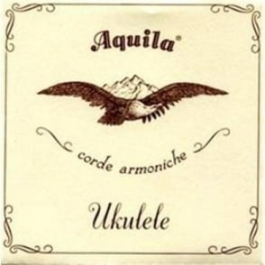 Aquila 17U Tenor GCCEAA Nylgut 6-String Ukulele Strings Key of C with Wound A