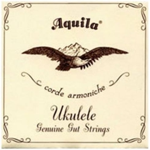 Aquila 34U Soprano ADF#B Nylgut Ukulele Strings Key of D Low-A Tuning