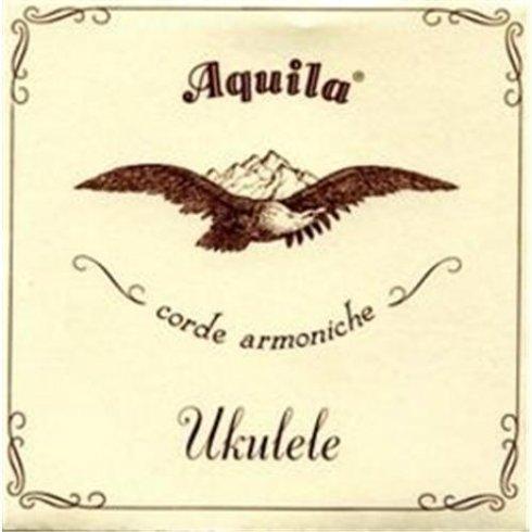 Aquila 5U Soprano GCEA Nylgut Ukulele Strings Key of C Low-G Tuning with Wound G