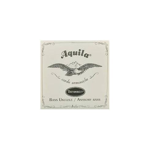 Aquila 68U Bass Ukulele Thundergut Strings GDAE for 4-String Kala U-Bass & Ashbory Bass