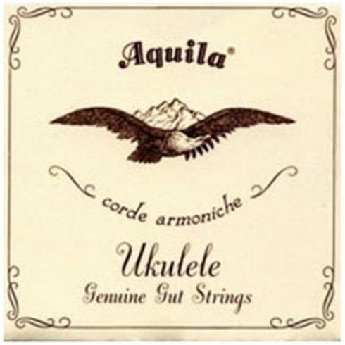 Aquila Corde Aquila 34U Soprano ADF#B Nylgut Ukulele Strings Key of D Low-A Tuning