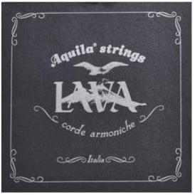 Aquila Lava Series Supernylgut Baritone Ukulele Strings 116U Regular D-Tuning DGBE, w/ Wound Low D