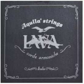 Aquila Lava Series Supernylgut Soprano Ukulele Strings 110U Regular High-G Tuning, GCEA