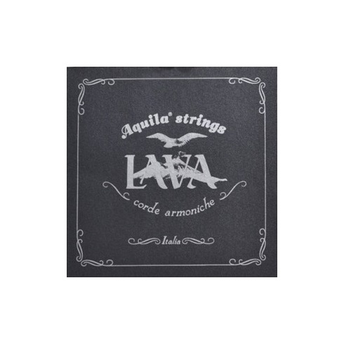 Aquila Lava Series Supernylgut Tenor Ukulele Strings 114U Regular High-G Tuning, GCEA w/ Wound C