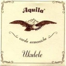 Aquila Soprano Ukulele Strings 5U Nylgut GCEA w/ Wound Low G
